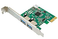 SYB SDPEX20047 USB 3.0 2 ports to PCI-Express adapter